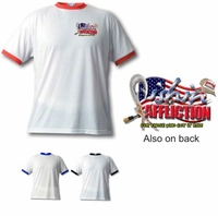 Fishin' Affliction Performance Ringer Tee