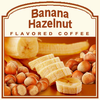 Banana Hazelnut Flavored Coffee (1lb bag)