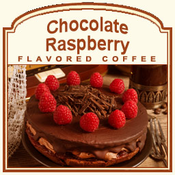 Chocolate Raspberry Flavored Coffee (1lb bag)