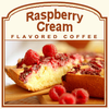 Raspberry Cream Flavored Coffee (1lb bag)