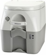 Dometic 301097606 Gray Durable Plastic 5 Gallon Portable RV/Marine Toilet