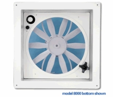 Fan-Tastic Vent  12 Volt Model 8000 ( 801200) Create-A-Breeze Ceiling Fan