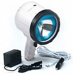 Optronics QR-2001 Night Blaster Marine 2 Million Candlepower 12 Volt Hand Held Cordless / Corded Rechargeable Spotlight