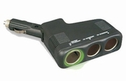 RoadPro RPPS-3SWV 12-Volt 3 Outlet Cigarette Lighter Adapter