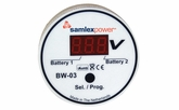 Samlex BW-03 2 Bank Battery Monitor