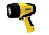 STANLEY FL5W10  12 VOLT 520 LUMENS  5 WATT WATERPROOF CORDLESS RECHARGEABLE SPOTLIGHT