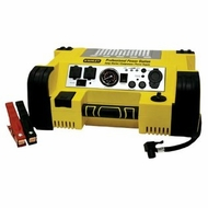 Stanley PPRH5 500 Watt Cordless Rechargeable Professional Portable Power Station, Jump Starter And 120 Psi Air Compressor