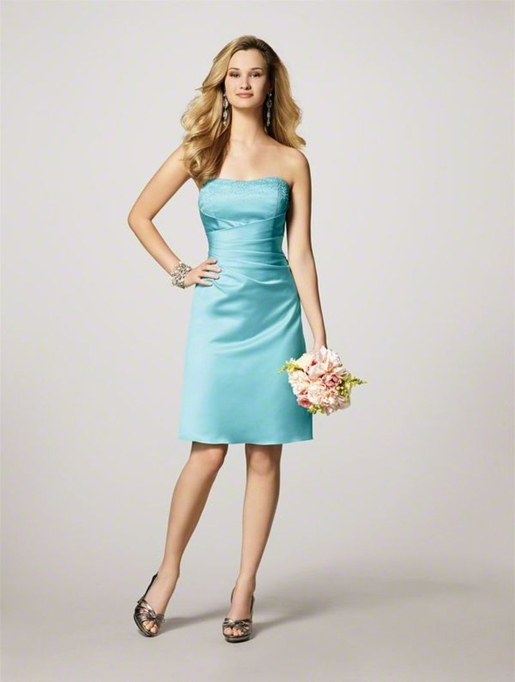 Alfred Angelo Bridesmaids: Alfred Angelo 7027 S