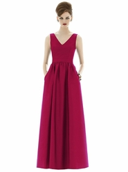 Alfred Sung Bridesmaid Dresses: Alfred Sung D639