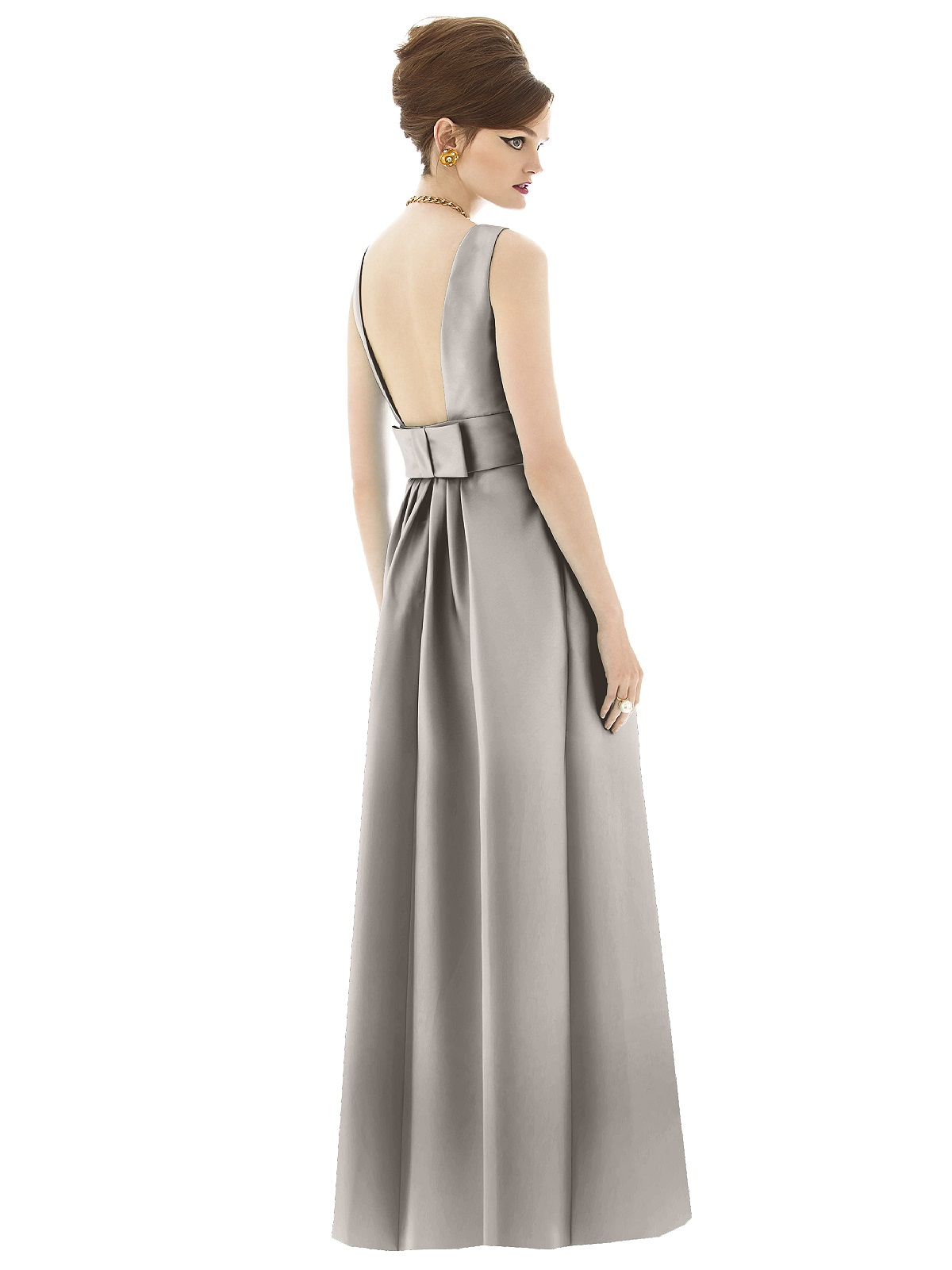 ALFRED SUNG BRIDESMAID DRESSESALFRED SUNG DRESSES D 661THE DESSY ...