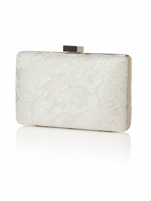 Dessy Accessories: Dessy Embroidered Lace Clutch