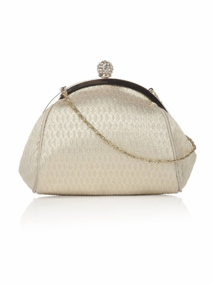 Dessy Accessories: Dessy Metallic Clutch