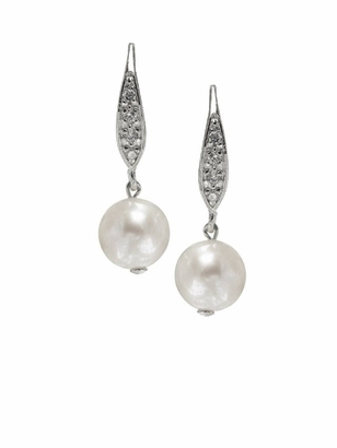 Dessy Accessories: Dessy Pearl Drop Earings
