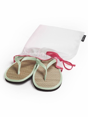 Dessy Accessories: Dessy Wedding Flip Flops