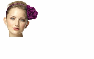 Dessy Accessories - LuxChiffon Flower