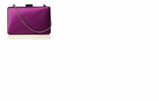 Dessy Accessories - Matte Satin Pill Box Clutch