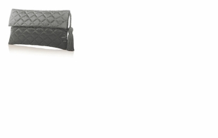 Dessy Accessories - Quilted Envelope Clutch with Tassel Detail