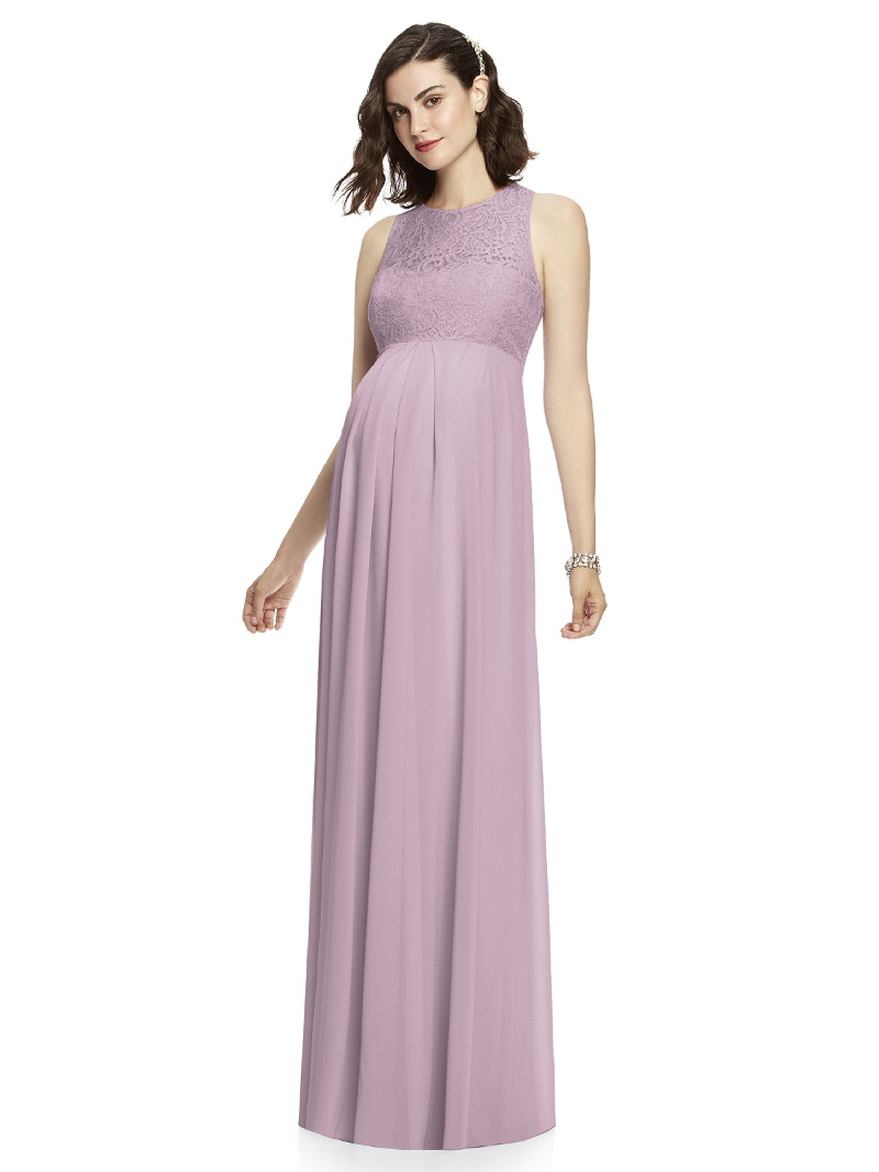 Finding maternity bridesmaid dresses isn't hard with a selection like ours. Make sure your expecting 'maid feels comfortable and confident by selecting one of these on-trend gowns from popular designers like Alfred Sung, Bill Levkoff, and more.