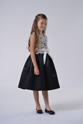 Us Angels Flowergirl Dress AZALEA