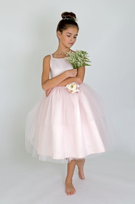 Us Angels Flowergirl Dress BALLERINA