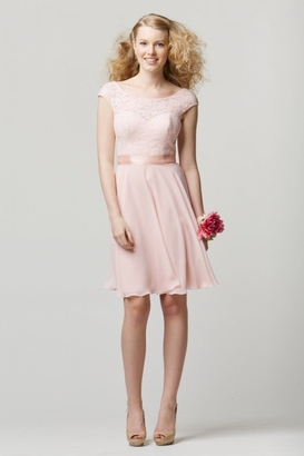 Wtoo Bridesmaid Dress: Wtoo 696