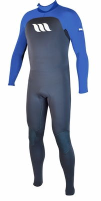 West Wetsuit Edge 3/2 Back Zip GBS Neo Tape L/S Steamer - Click to enlarge