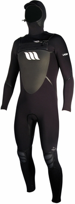 West Wetsuit Lotus 5/4 Fluid Seam Hooded Chest Zip