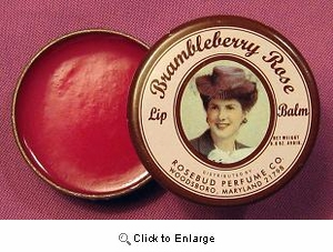 Rosebud Salve - Brambleberry Rose Lip Balm TIN