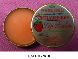 Rosebud Salve - Strawberry Lip Balm TIN