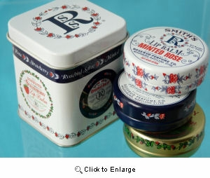 Rosebud Salve - Three Lavish Layers of Lip Balm TIN TRIO