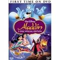 Aladdin (Platinum Edition)  (Disney DVD, new)