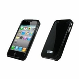 Apple iPhone 4 / iPhone 4G Empire New-Skin Case Silicone Protector, Black, new