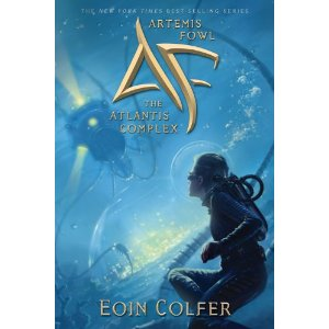 Artemis Fowl: The Atlantis Complex (Book 7) by Eoin Colfer (Hardcover ) - Deckle Edge, new