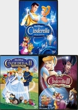 Cinderella I, II and III Movie Collection (Disney DVD) new