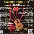 Country Party Hits by Karaoke (Music CD) new