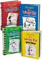 Diary of a Wimpy Kid Four Book Set (Book, new) by Jeff Kinney