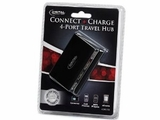 Digital Innovations Connect Plus Charge 4-Port USB Travel Hub, new
