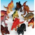 Dozen Jumbo Dinosaurs up to 6 inches long  (Toys Section) new