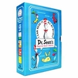 Dr. Seuss's Box Set (Cat in the Hat, One Fish Two Fish, Green Eggs and Ham, Hop on Pop, Fox in Socks) by Dr. Seuss (Hardcover) new