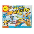 Fold N Fly Paper Airplanes Kit  (Toys Section) new