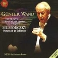 G?�nter Wand Conducts Debussy and Mussorgsky (Music CD) used