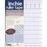 Inchie Ruler Tape, 10/Pkg., new