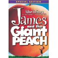 James and the Giant Peach - Special Edition UPC:0717951009388 (Disney DVD, new)
