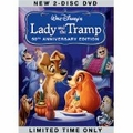 Lady and the Tramp~ Barbara Luddy, Larry Robert (DVD) new, choose
