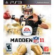 Madden NFL 2010 or 2011 (Playstation 3) used, choose