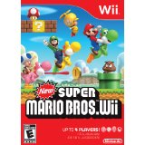NEW SUPER MARIO BROS (Video Games, Nintendo Wii) new