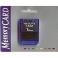 Playstation 1 Memory Card 1MB, new