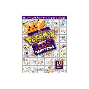 Pokemon Official Players Guide Red/ Blue (Paperback) new