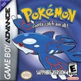 Pokemon Sapphire Version (Nintendo Game Boy Advance) used