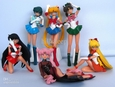 Sailor Moon Japanese Anime Sexy Girl Figures (6 piece lot, TOY) new
